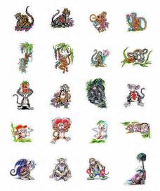 Choose your own monkey tattoo design from tattoo art com