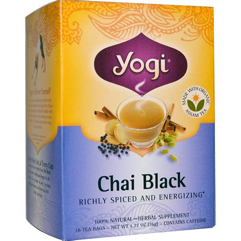 Yogi Detox Tea Canada by Yogi Tea Organic Teas Blend Chai Black 16 Bags