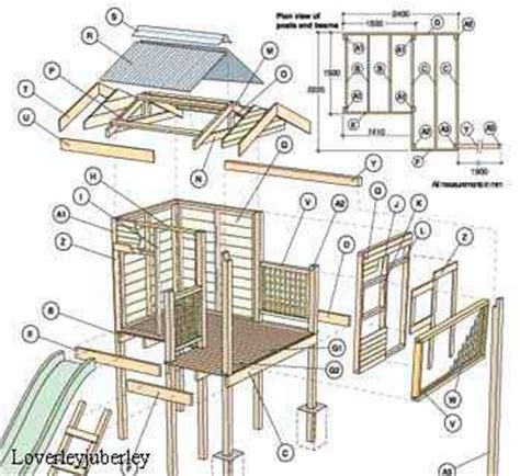 tree house plans pdf pdf plan s on a cd doll house playhouse wendyhouse treehouse plan s cd ebay