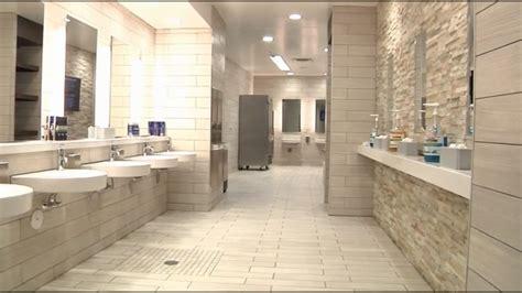 gym bathroom interior attractive bathroom design using white stone