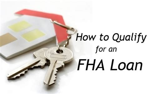 who qualifies for home loans from the federal housing administration how to qualify for an fha loan gobankingrates gobankingrates
