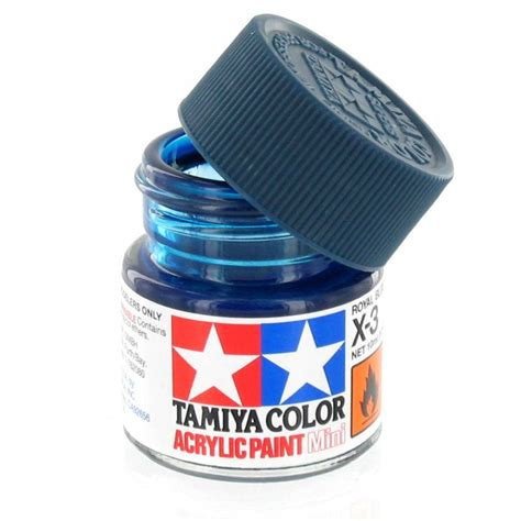 Tamiya Acrylic Paint X 4 Blue tamiya colour acrylic paint x 3 royal blue 10ml hobbycraft