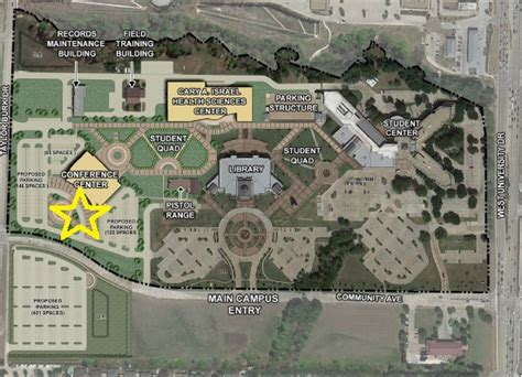 central texas college map new student orientation