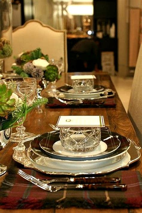 ralph lauren black white dining room tablescapes 12 favorite christmas table settings the ace of space blog