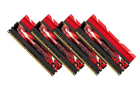 g skill launches trident x series 32gb 2800mhz ddr3 memory