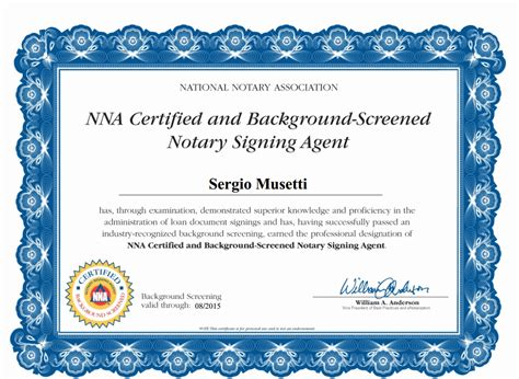 Nna Background Check Sacramento Mobile Notary Signing Notes