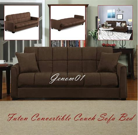 futon convertible futon convertible sofa bed microfiber sleeper living