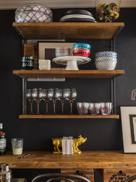 bar shelves for home photo page hgtv
