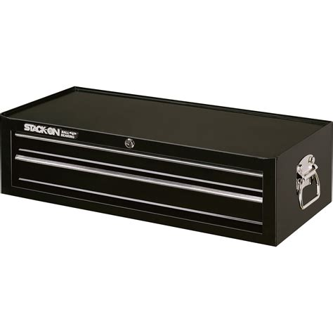 Stack On Drawers product stack on 26in 2 drawer add on tool chest black