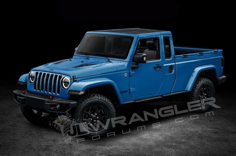 new jeep truck will the jeep wrangler pickup look like this motor trend
