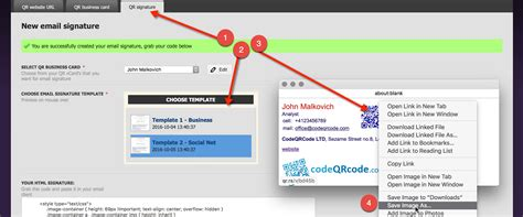email template maker how to add qr code signature to gmail tutorial
