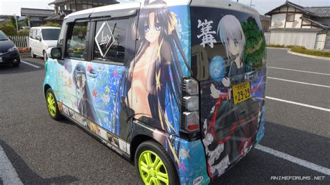 Anime Car Stickers