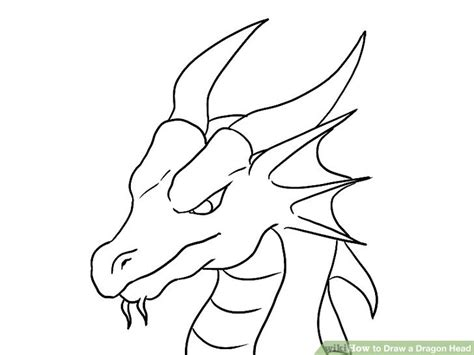 tutorial menggambar hulk how to draw a dragon head with pictures wikihow