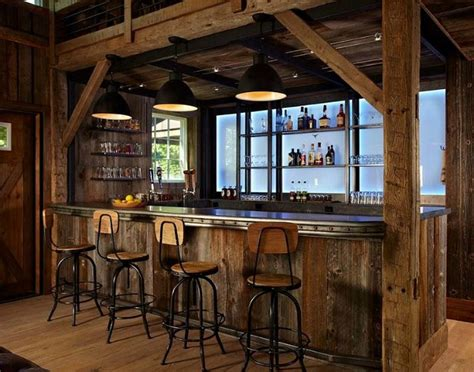 Barn Bar Converting Stables Into A Cool Quot Barn Quot Hooked