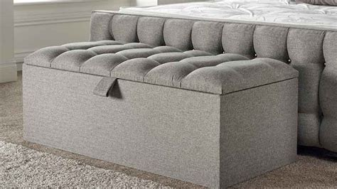 Oxford Ottoman Storage Box Bedrooom Furnituremattress Storage Ottomans Uk