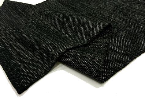 black rag rug rag rugs slite black rag rugs