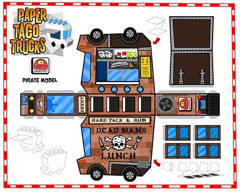 Paper Truck Template Www Pixshark Com Images Galleries
