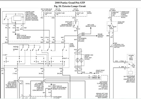 pontiac grand am lights wiring diagram get free image