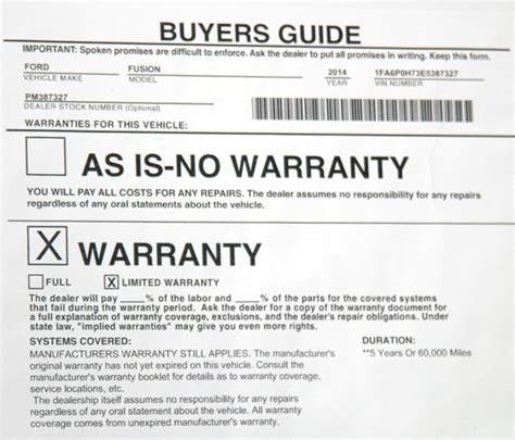 The Forced Or Hidden Warranty Scam Carbuyingtips Com