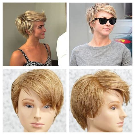 pixie hairstyles using wax julianne hough pixie haircut tutorial style pinterest