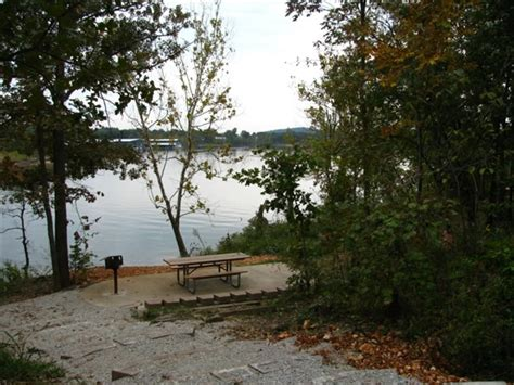 table rock state park branson mo gps csites rates