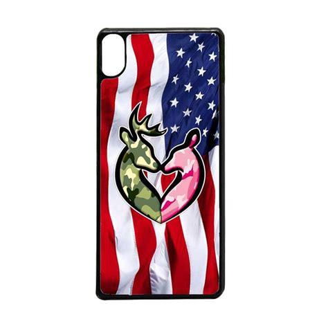 jual acc hp browning deer realtree camo american flag