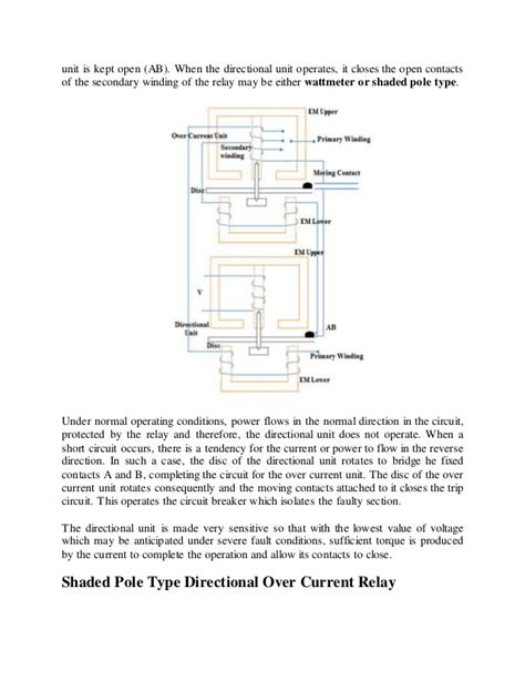 wiring diagram overcurrent relay gallery wiring diagram