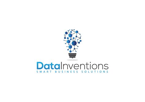 data pattern logo internet logo design for data inventions with and without