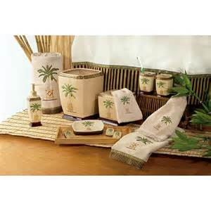 Avanti banana palm bath collection from beddingstyle com