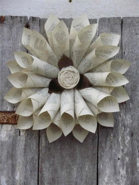 creative craft ideas for home decor recycling old paper for home decor 30 creative craft ideas for kids and adults sioux