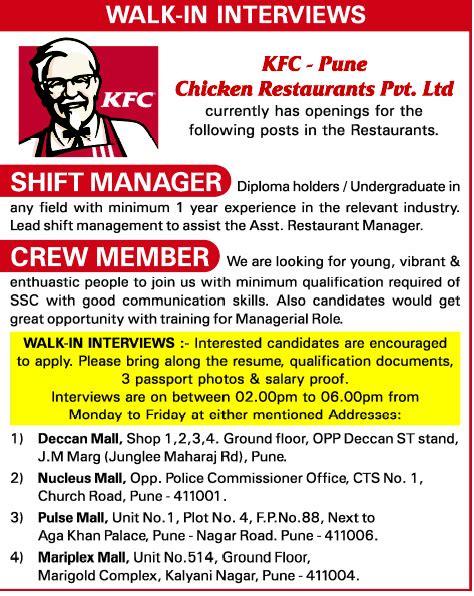 in kfc vacancies in kfc opportunities at kfc at kfc openings at kfc