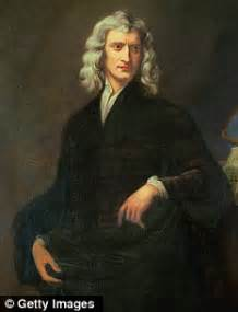 isaac newton s biography and his most important discoveries sir isaac newton s handwritten notes about laws of motion