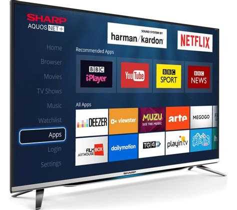 Smart Tv Sharp buy sharp lc 40cfg6452k 40 quot smart led tv free delivery