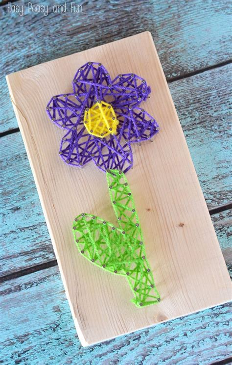 String For Children - flower string string for easy peasy and