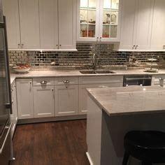 mirrored tiles backsplash kitchen white kim kardashian kris jenner s kitchen love the splash back and tea pots