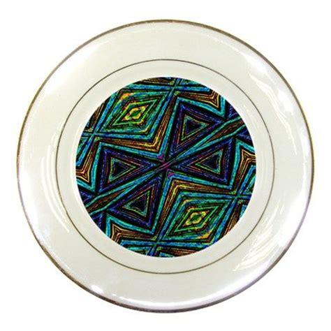 tribal pattern dinnerware tribal style colorful geometric pattern porcelain display