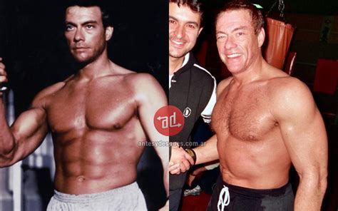 las mujeres de jean claude vam damme fotos 187 muscled celebrities before and after before and after