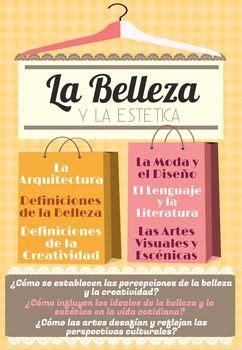 Belleza Essential ap poster language and aesthetics