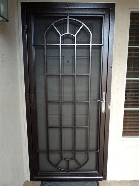 metal door designs home steel security doors security doors for home screen