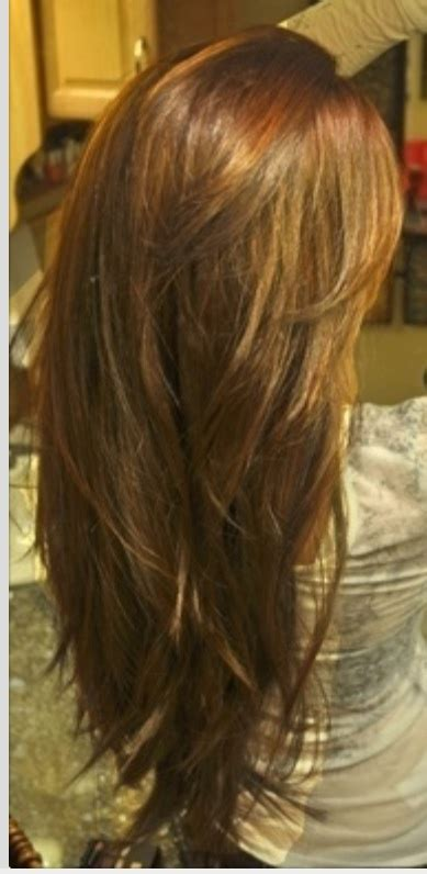 hir layer back pinterest long layered hair back view of how i want my next haircut