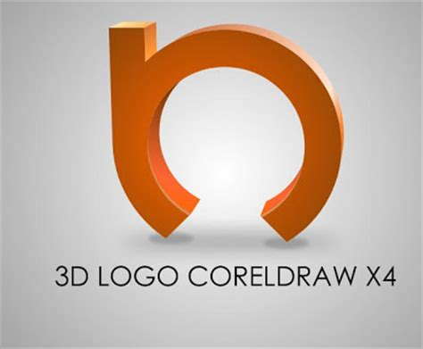 3d logo design in coreldraw tutorial corel draw x 4 tutorials 3d logo coreldraw x4 tutorial