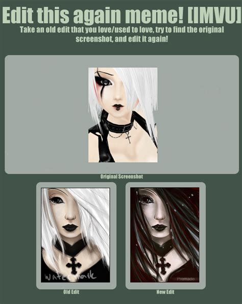 imvu re edit meme by roses under darkness on deviantart