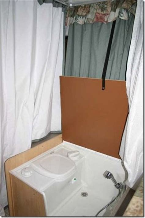 tent trailer with bathroom 17 best images about pop up cer bathroom on pinterest