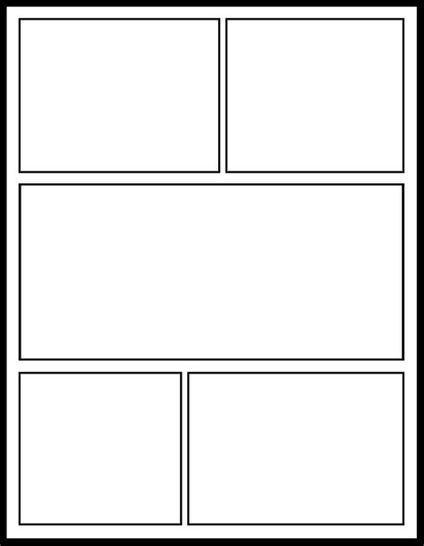 Printable Blank Comic Template For by Teaching With Comics Getting Smart By Winifred Kehl