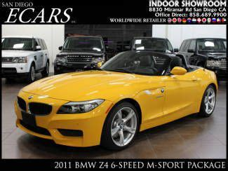 car maintenance manuals 2011 bmw z4 user handbook buy used 2011 bmw z4 3 0i manual 6 speed m sport yellow special edition only 8k miles in san