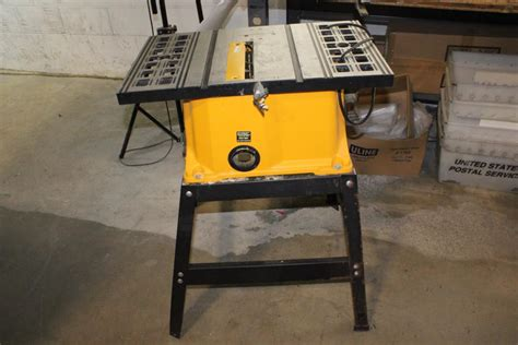 pro tech bench saw pro tech 10 quot bench saw property room