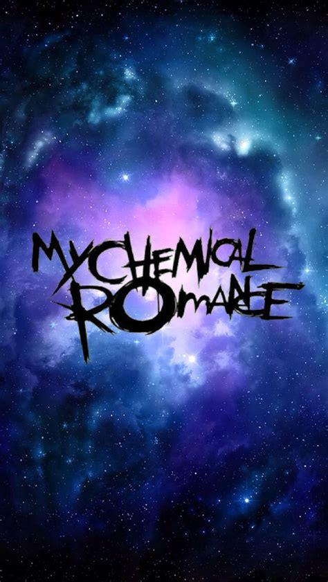 chemical romance logo wallpaper wallpapersafari