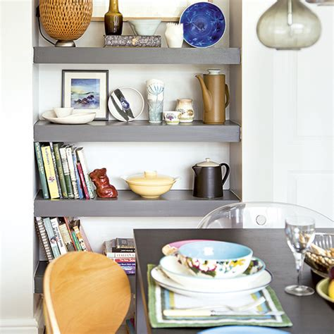 dining room shelving dining room with smart grey alcove shelving ideal home