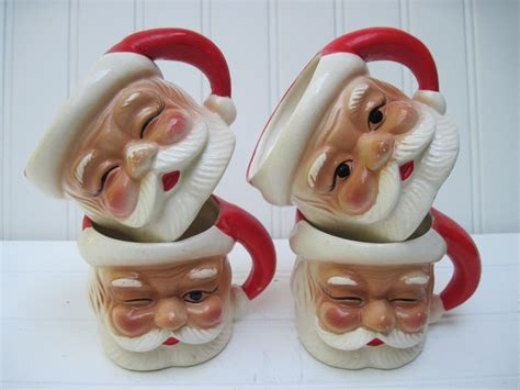 Mug Natal Santa Claus 20 best santa mugs images on vintage santas