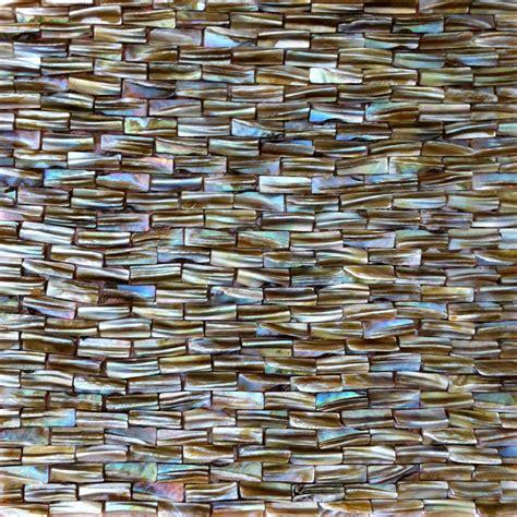 natural shell mosaic wall tile